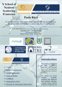 X School of Neutron Scattering - Francesco Paolo Ricci_Page_1
